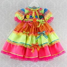 vestidos de festa junina infantil - Pesquisa Google