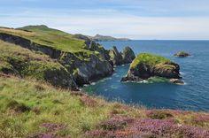 Pembrokeshire Coastal Path West of Abereiddy