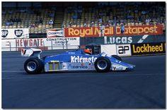 1983 GP Wielkiej Brytanii (Piercarlo Ghinzani) Osella FA1E - Alfa Romeo