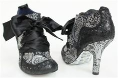 Irregular choice. Paisley Big Bow Booties - everything about these is perfect.