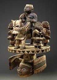 Afrikaans houten beeldhouwwerk