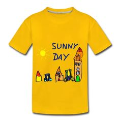 sunny day | Pirino Sunny Days, Sunnies, Kids Outfits, Sweatshirts, Children, Drawings, Prints, Clothes, Fashion