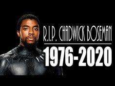 BLACK PANTHER STAR CHADWICK BOSEMAN PASSES AWAY AT 43 R.I.P.