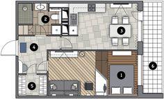 Перепланировка Стиль контемпорари: урбанистический интерьер в доме