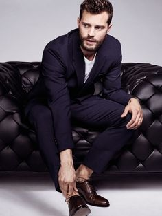 Jamie Dornan e Dakota Johnson Promoshoot 50 Sfumature di Nero | 50 Sfumature Italia