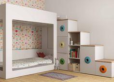 fun kid's room bed