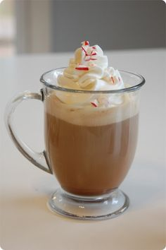 Just Deanna: Homemade Peppermint Mocha...new addiction on the rise