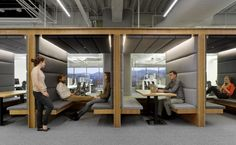 Small places for meetings. Square – San Francisco Headquarters