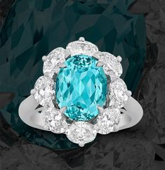 Shop Antiques, Fine Art and Jewelry at M.S. Rau Gemstones For Sale, Tourmaline Ring, Gem S, Gemstone Colors, Fashion Rings, Free Gifts, Fine Art, Antiques, Diamond