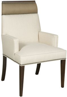 Vanguard Dining Room Phelps Arm Chair W743A   Vanguard Furniture   Conover,  NC