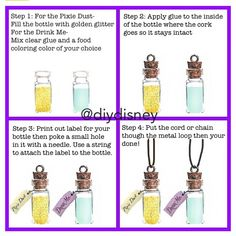 Wedding Favors for guests!!!- SMD  Disney DIY Bottles - oh the things you could make!
