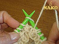 Bambu Örneği / Örgü Öğreniyorum / Nako