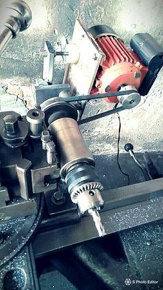 Mini Cnc Lathe, Metal Lathe Tools, Metal Lathe Projects, Metal Working Machines, Metal Working Tools, Metal Mill, Homemade Machine, Engineering Tools, Tool Room