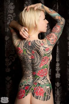Inked Girl of the Day Kristen!