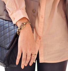 Bracelet, ring, nails