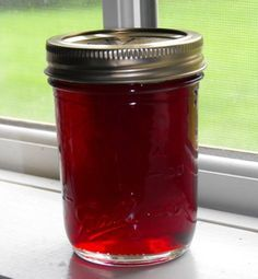 strawberry jelly from Farmer's Daughter