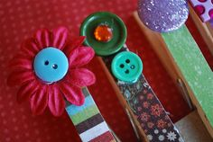 Decorative Clothes Pins