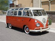 1965 VW 21 Window Samba Bus Custom