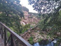 Ponte do rio. Galicia