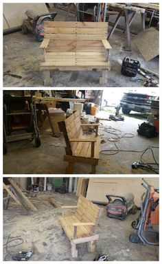#PalletBench, #RecyclingWoodPallets