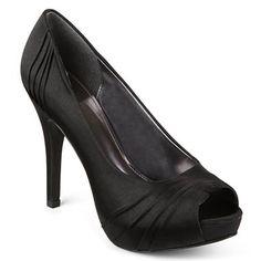 Jacqueline Ferrar® Dante Satin Peep-Toe Pumps - jcpenney