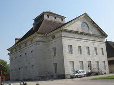 Maison du directeur - Saline royale (1774-1779) d'Arc-et-Senans - Ledoux