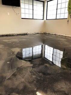 🧊Cooler than the flip side of your pillow! Metallic epoxies are fast becoming the favorite floor coating for high end garage owners. They offer a durable, chemical resistant solution for a garage floor. Concrete Sealant, Garage Floor Coatings, Start Of Winter, Epoxy Floor, Restoration, Metallic, Flooring, Home, House
