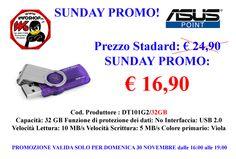 SUNDAY PROMO € 16,90 - www.infoshopsrl.it - Contatto x PROMO Cell. 338 8550883