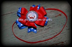 Adorable crabby but Cute Summer headband by tootoocute4you on Etsy, $8.00