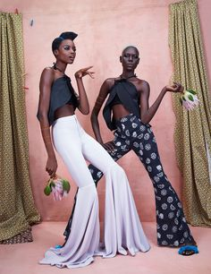 Maria Borges and Ajak Deng in Africa Rising for Models.com Photography by Ed Singleton for Models.com Stylist: Solange Franklin Editor: Irene Ojo-Felix Hair: Sirsa Ponciano Make Up: Laura...