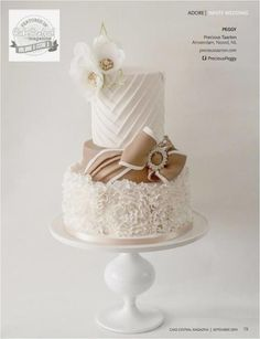 Wedding cake - Cake by Peggy ( Precious Taarten)