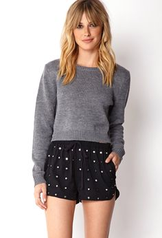 Mirror Moment Dolphin Shorts   FOREVER21 On the dot #MirroredDots #Love21 #Cute