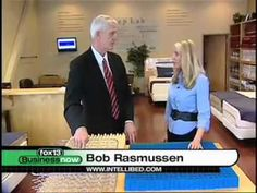 Bob Rasmussen of IntelliBED was recently on Fox13 Business Now to explain the many benefits and advantages of intelligel. Read more @ http://www.intellibed.com/blog/intellibed-on-fox13-business-now/