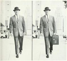 セールスマン、前と後。 印刷広告、詳細_ビジネス画面誌、第2_ 1964