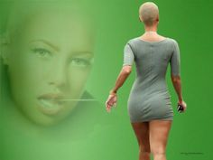 Amber Rose, American model, recording artist, actress, of ...