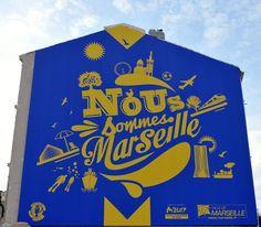 Je suis Marseille ! le mur de Zidane.