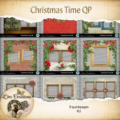 Christmas Time quickpage bundle