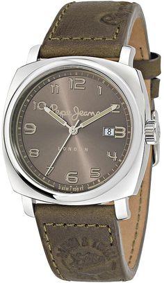 Pepe Jeans London Howard rannekello - Kultatähti.fi verkkokaupasta Pepe Jeans, Omega Watch, Tutu, London, Watches, Leather, Accessories, Fashion, Clock Art