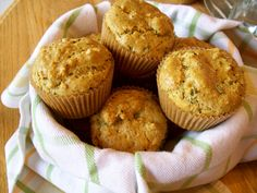 Garlic, Rosemary and Chive Muffins  @Jackie Godbold Gregory Living Healthy