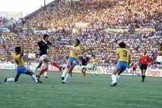 A Narey screamer opens the scoring for Scotland vs Brazil in the 1982 World Cup.