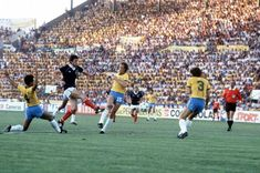 A Narey screamer opens the scoring for Scotland vs Brazil in the 1982 World Cup.