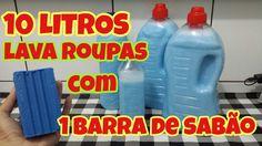 SABÃO LAVA ROUPAS CASEIRO, MARAVILHOSO!!!