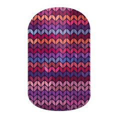 Stitched Away nail wraps by Jamberry