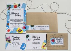 Wedding Invitation  Mexican Loteria by JPstationery on Etsy