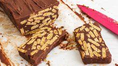 Πανεύκολος+κορμός+σοκολάτας+με+ζαχαρούχο+γάλα+(Video)