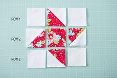 Make a Quick + Easy Friendship Star Quilt Block Star Quilt Blocks, Star Quilt Patterns, Star Quilts, Easy Quilts, Mini Quilts, Pattern Blocks, Block Quilt, Scrappy Quilts, Hunters Star Quilt