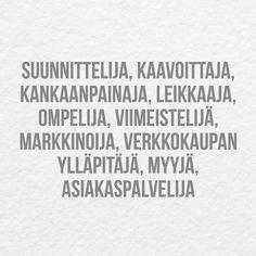 Ei pelkkää ompeluhommaa tuo vaatteiden valmistus ja myynti! Mm. näitä kaikkia työllistät lähellä kun ostat lähellä tehtyä  . . . #madeinfinland #lastenvaatteet #kidsstyle #finnishdesign #lastenvaatekarnevaali #tampere