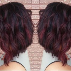 My new red violet ombré and cut                                                                                                                                                                                  More