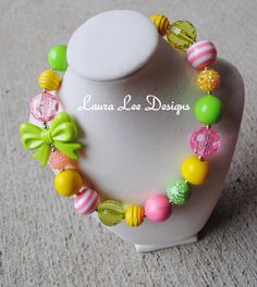 The Summer Collection Pink Yellow and Lime by LauraLeeDesigns108