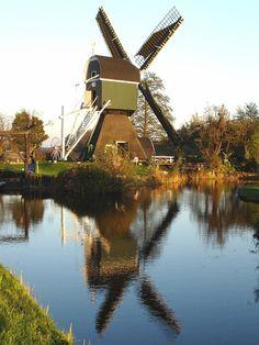 Molen De Trouwe Wachter, Tienhoven Utrecht the Netherlands.